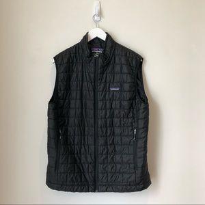 Patagonia Men's Black Nano Puff Vest